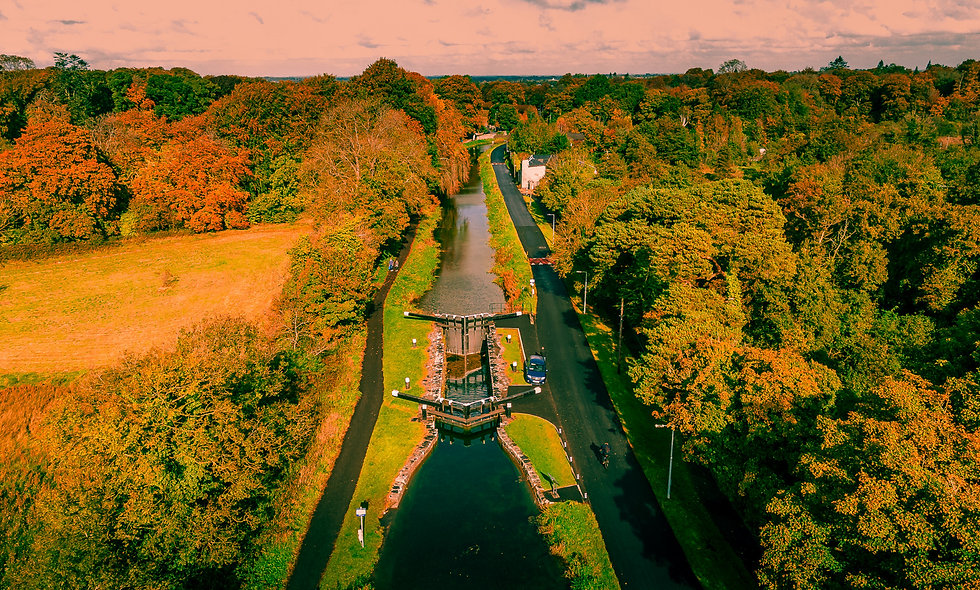 Autumn Canal View