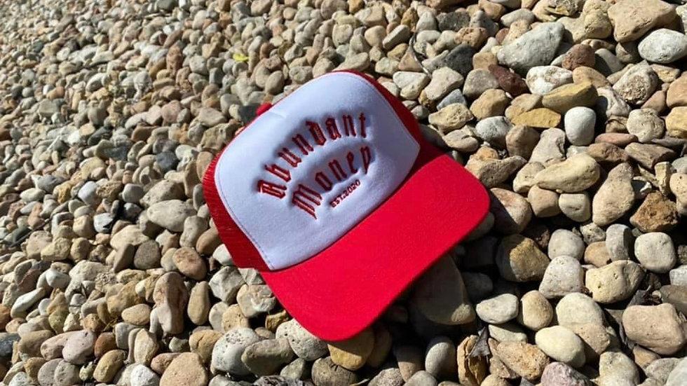 Red & White Trucker Hat