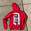 Thumbnail: Graphic - Red Zip up