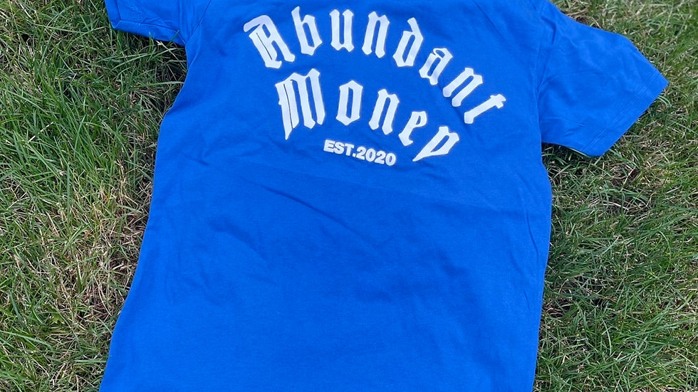 Blue - graphic tee