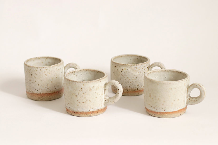 Speckled mugs