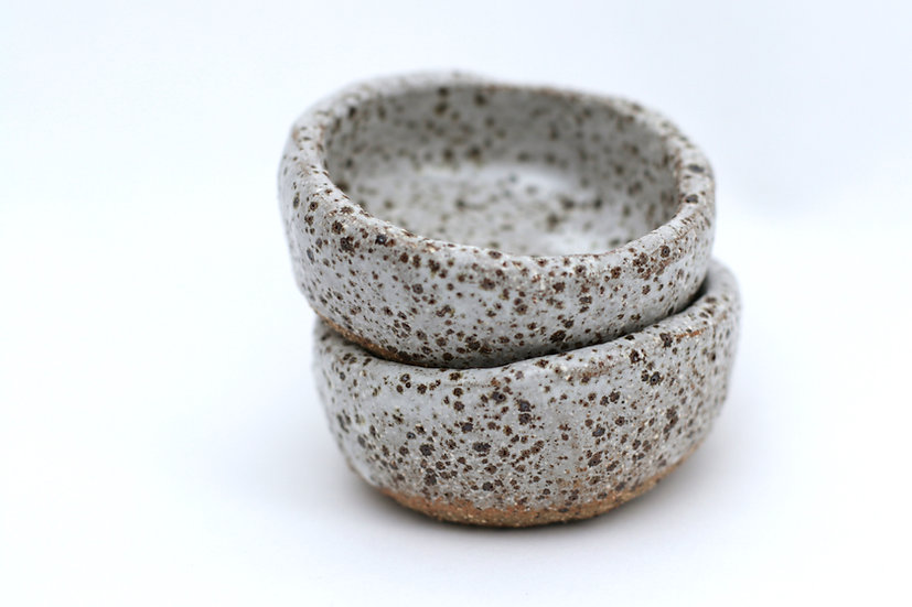 Small textured dishes