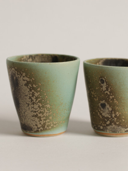 tumblers and mugs