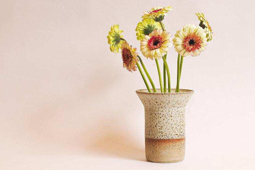 Speckle glaze vase
