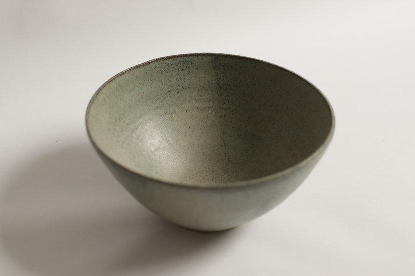 Large eucalyptus green bowl