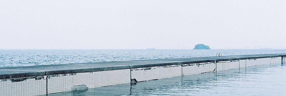 福岡・プールのような海