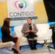 Univision Interviews LINC for Contigo en la Comunidad