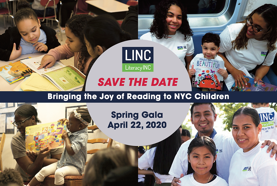 LINC will Honor Mark Rudd, Tracy Dockray, and Susan and Harry Newton at its 2020 Spring Gala