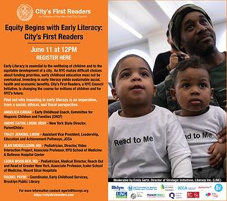 محو الأمية المبكرة أمر ضروري: الدور المهم للقراء الأولون للمدينة للعائلات القاطنة في مدينة نيويورك