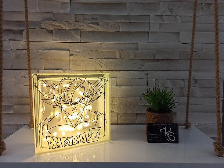 Lampe verre Dragon Ball Z