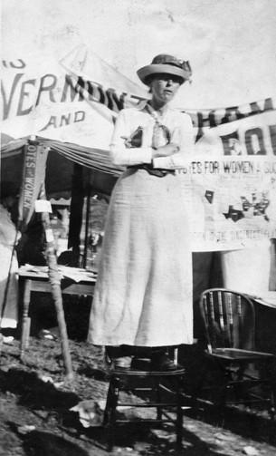 Women's Suffrage Association of Vermont Member, 1912