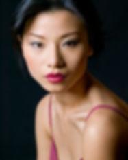 Joli modèle asiatique