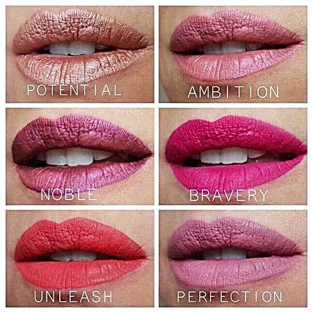 Powerlips Color Chart