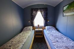 Soverom med to sengeplasser