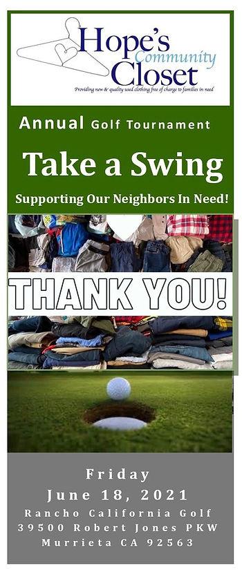 HCC - Take A Swing Golf Tournament 2021-
