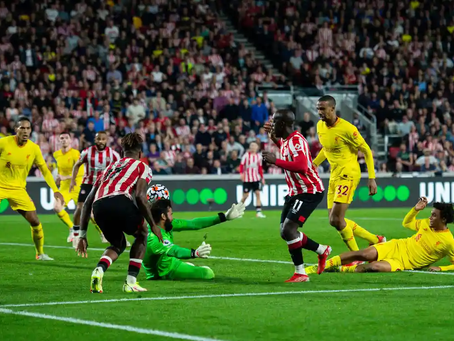 Liverpool held to thrilling draw at Brentford after Wissa prehends his chance