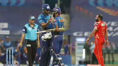 MI vs PBKS Live Score IPL 2021: Mumbai stable after losing early wicket