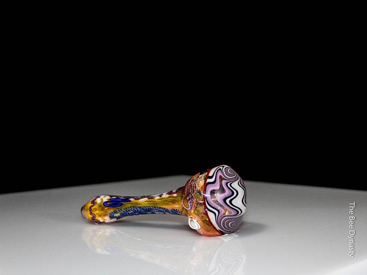 Lavender Wig Wag Molten Spoon