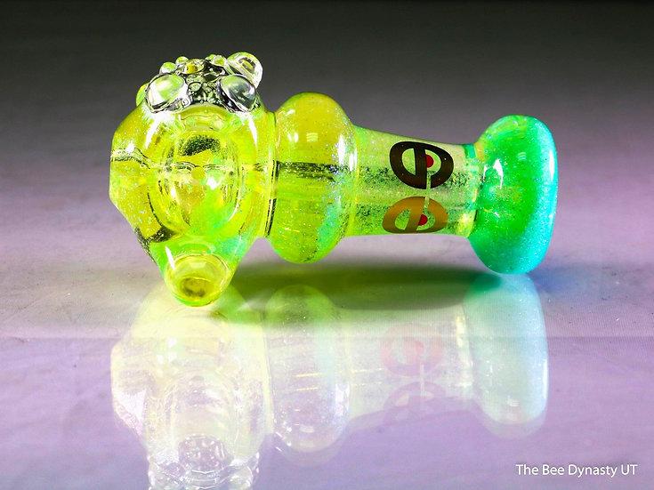 Glitter Glycerin Cheech Pipe