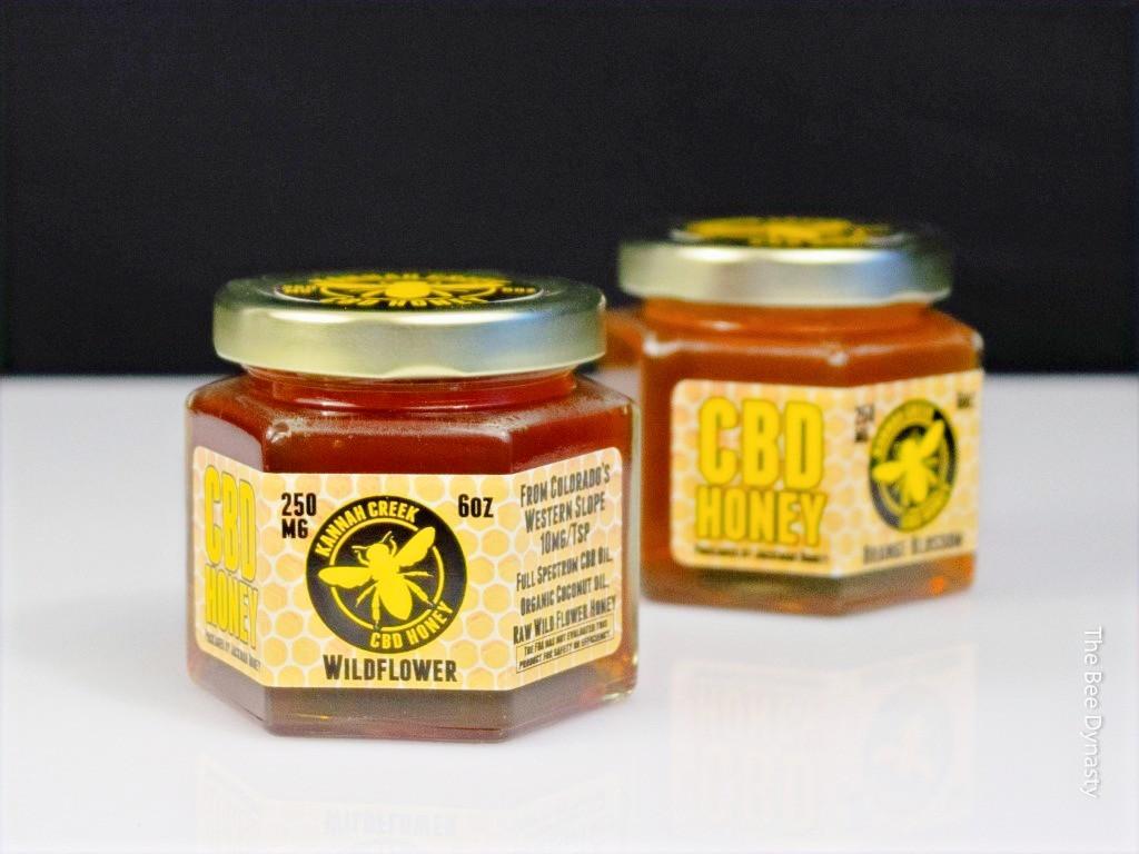 Local Wild Flower Hemp Honey