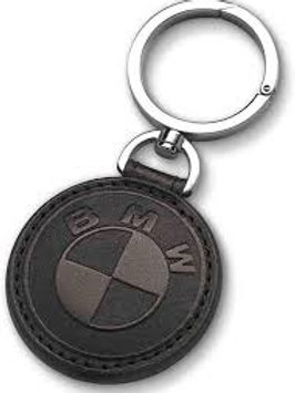 Leather Key Chain. Genuine BMW
