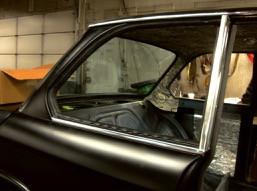 Installing 2002 rear side glass seals