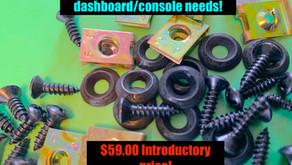 Dashboard fastener KIT!