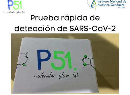 Detección de SARS-CoV-2 basado en LAMP-Fluorescencia