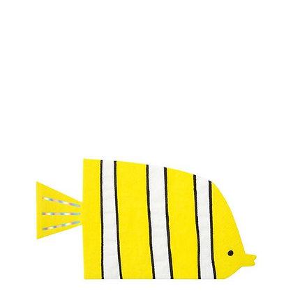 Partyware - Under The Sea Fish Napkins