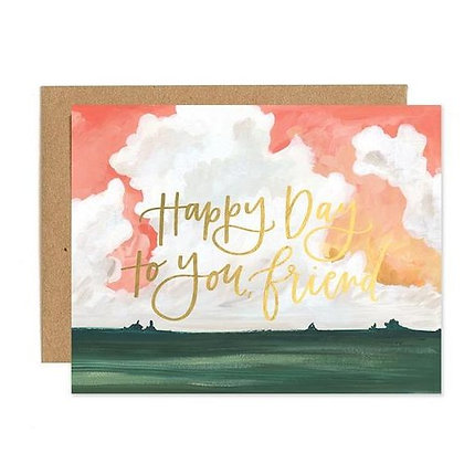 Card-Happy Day Landscape