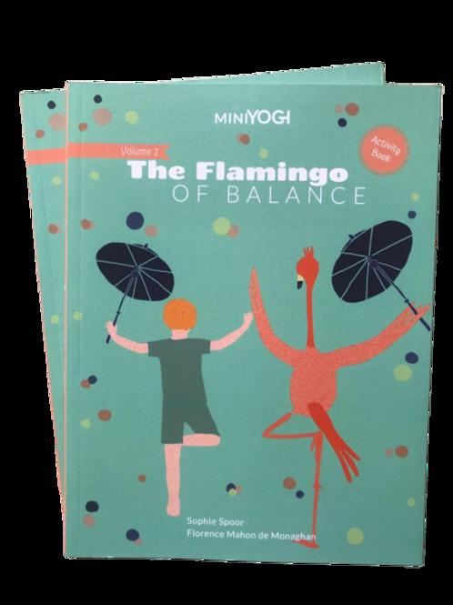 Kids Yoga Book - MiniYOGI 2: The Flamingo of Balance