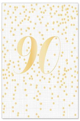Greeting card-Happy 90!