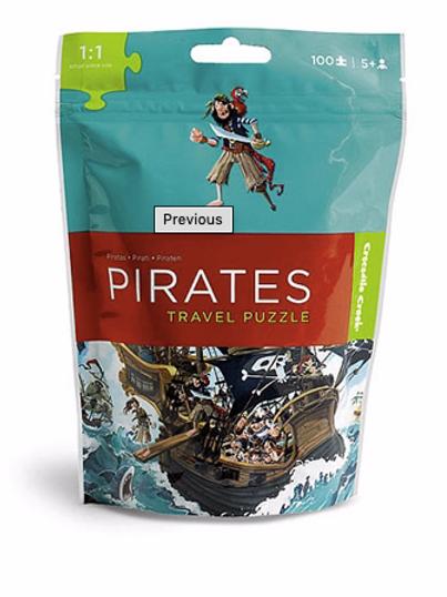 100-Pc Travel Puzzles Pirates