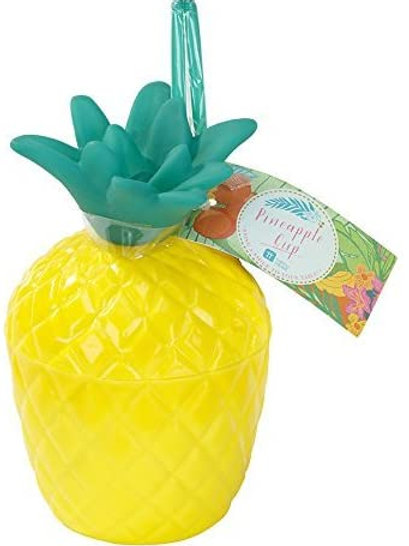 Tropical Party Plastic Pineapple Cup