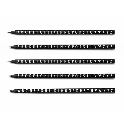 Pencils 5-Pack-Black