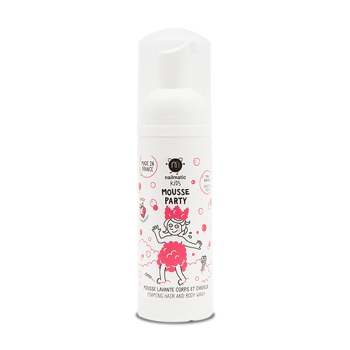 Mousse party -Stawberry Hair & body foam