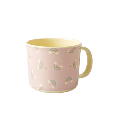 Melamine Baby Cup with Rainbow Print