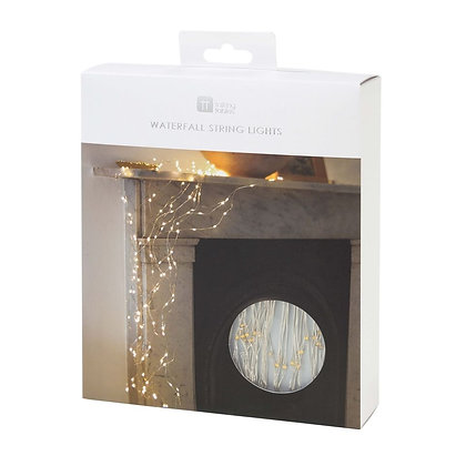 Party Illuminations Multi-Strand silver Wire LED Lights