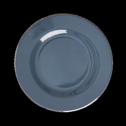Melamine Side Plate in Dark Grey