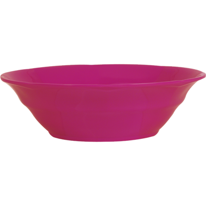 Melamine Soup Bowl in Fuchsia