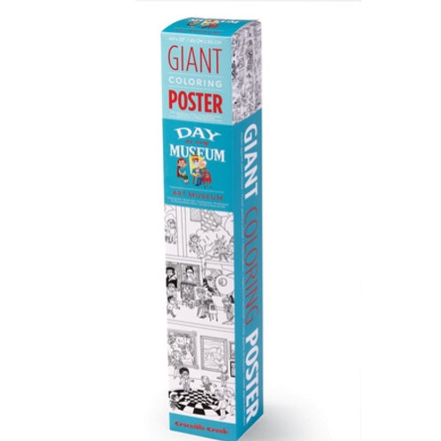 Giant Coloring Poster-Arts Museum