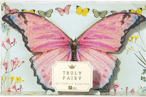 TRULY FAIRY BUTTERFLY BUNTING 2.5 METRES