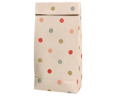 Gift bag w. Multi dots - Small