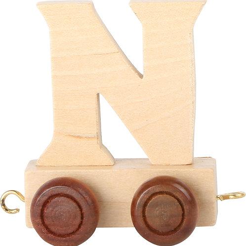 Letter Train N
