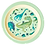 Thumbnail: Melamine Kids Lunch Plate with Dino Print