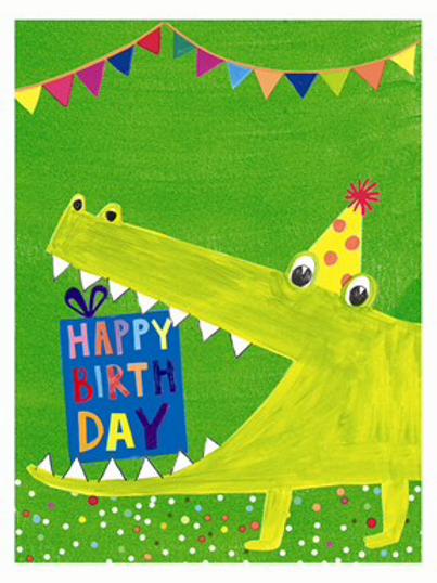 Card Paper Salad Jamboree HB-Crocodile