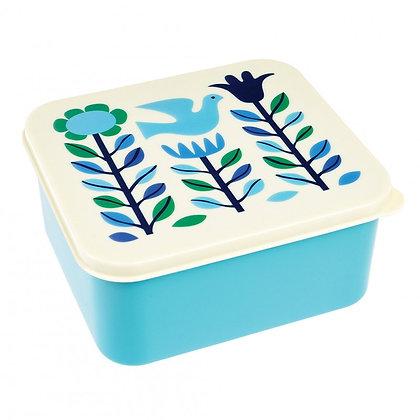 Folk Doves Lunch Box