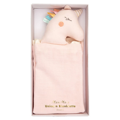 Unicorn Baby Blanklette