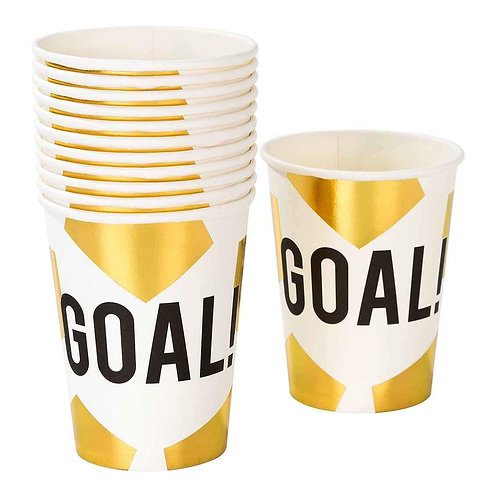 PARTY CHAMPIONS FOILED CUP 12PK
