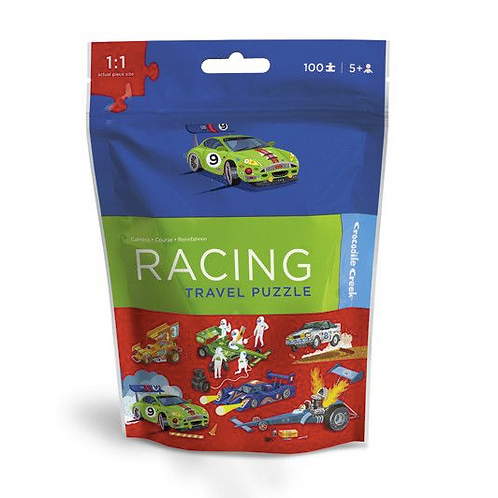 100-Pc Travel Puzzles Racing